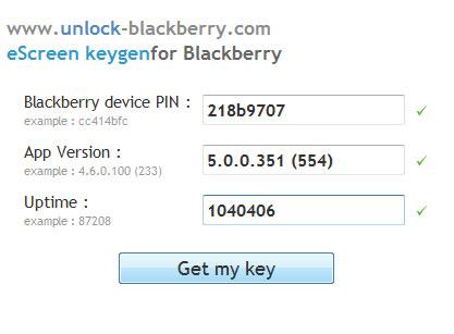 Obtenir le code MEP de son Blackberry via menu caché