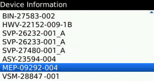 blackberry-device-information-MEP-code