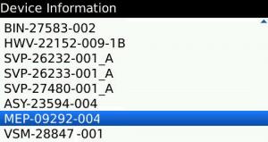 blackberry-device-information-MEP-code