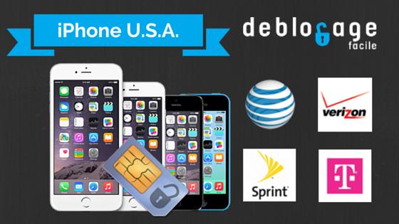 Débloquer un iPhone des Etats-unis